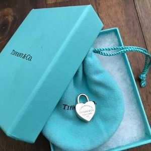 Tiffany & Co heart charm/pendant
